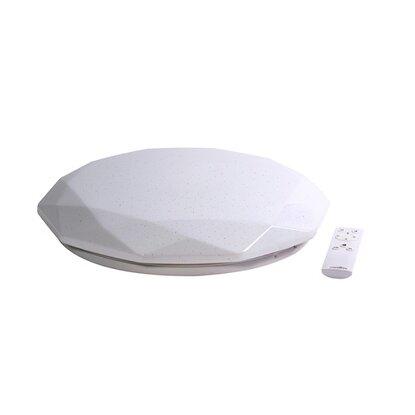 LED stropné svietidlo DIAMANT STAR s diaľkovým ovládaním 415 x 73 mm