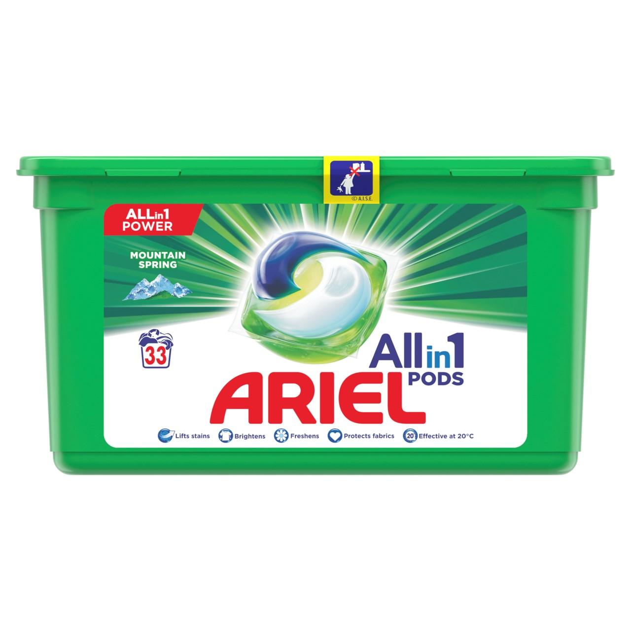 Ariel Mountain Spring gélové kapsuly 1x33 ks