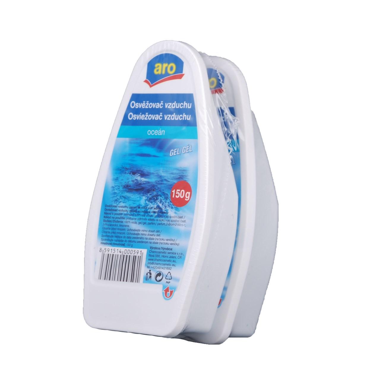 ARO gél oceán osviežovač vzduchu 2x150 g