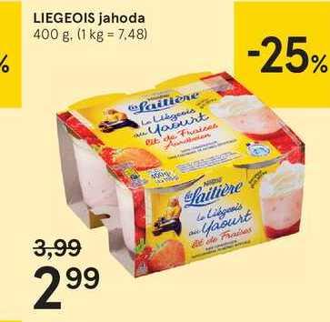 LIEGEOIS jahoda, 400 g