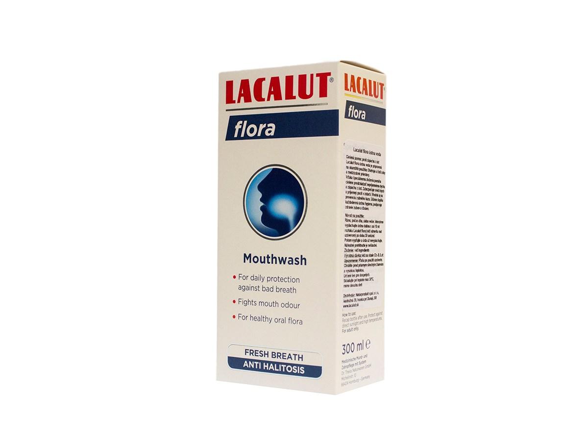 Lacalut Flora ústna voda 1x300 ml
