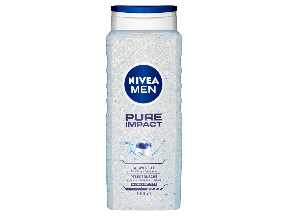 Nivea Men Pure Impact sprchový gél 1x500 ml