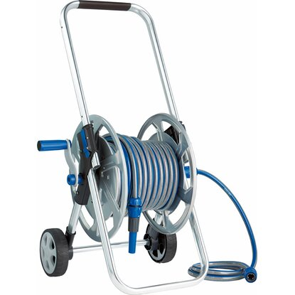 LUX Súprava s vozíkom na hadicu s kovovým výpletom Comfort