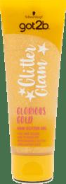 Trblietavý gél na vlasy Glitter Glam Glorious Gold, 50 ml