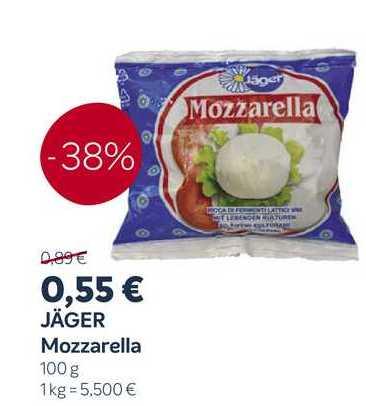 Jäger Mozzarella 100g