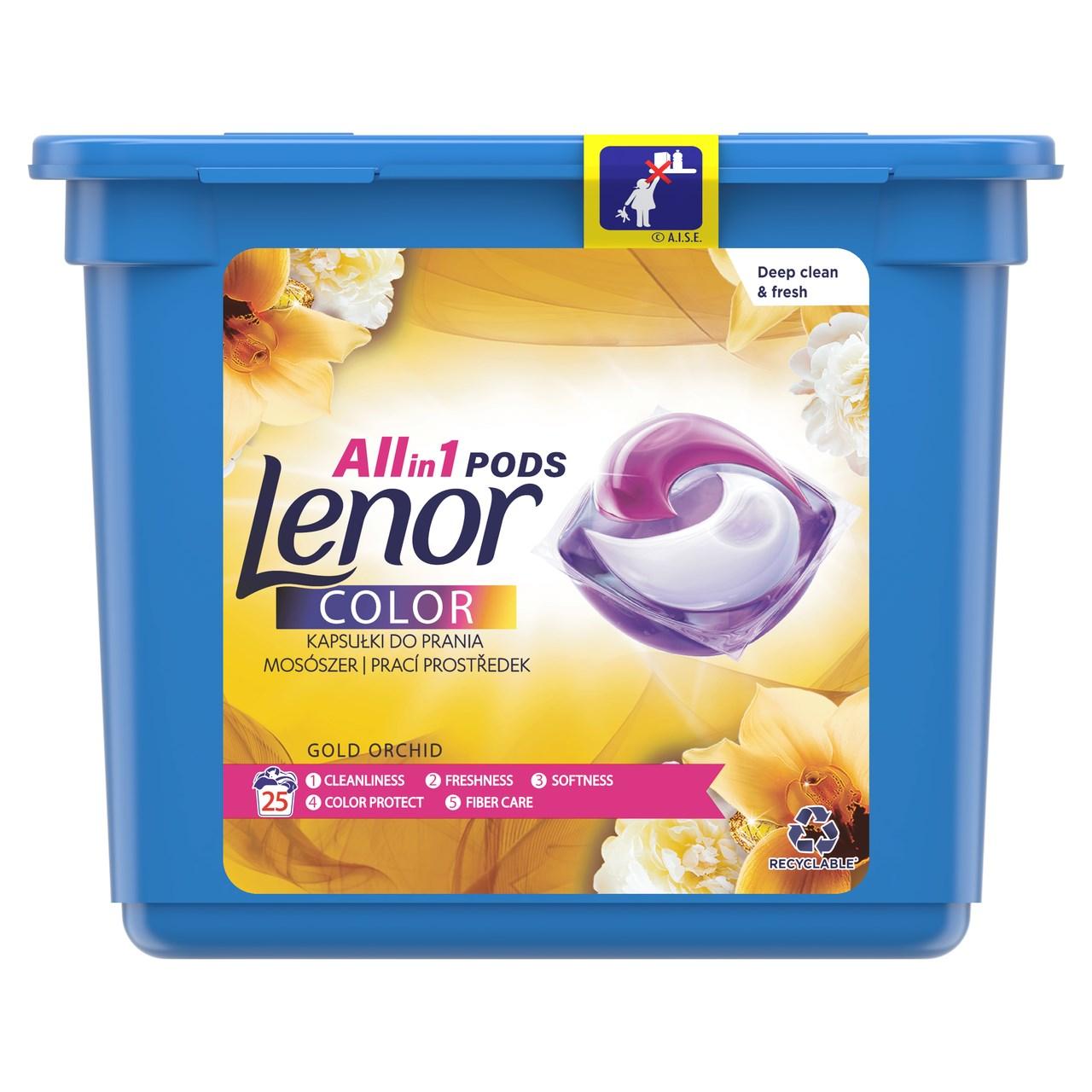 Lenor Color Gold Orchid gélové kapsuly 1x25 ks