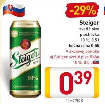 Steiger 0,5 l