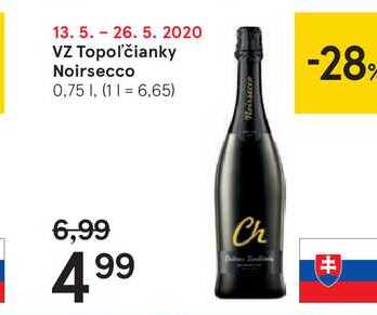VZ Topoľčianky Noirsecco, 0,75 l