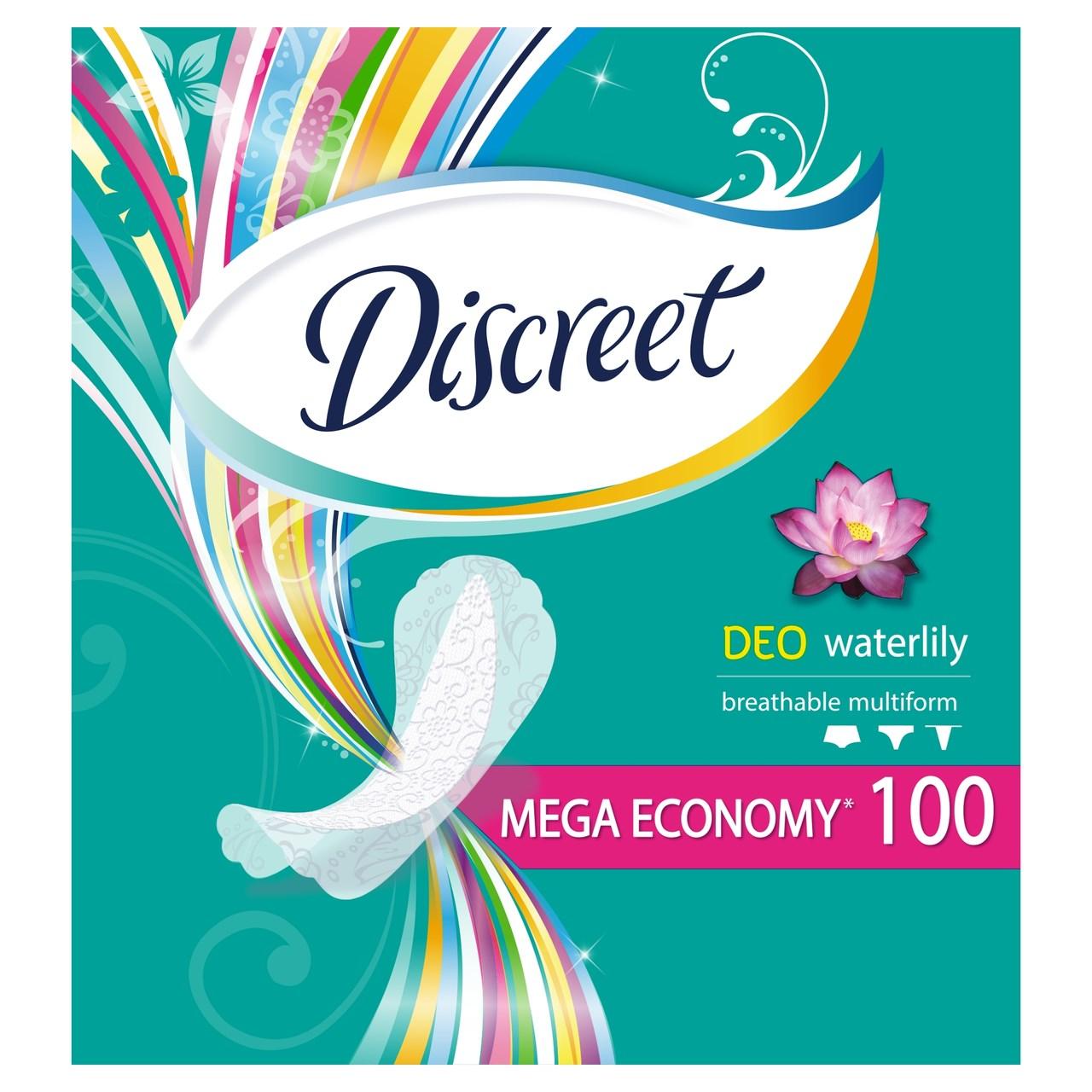 Discreet waterlily intimky 1x100 ks