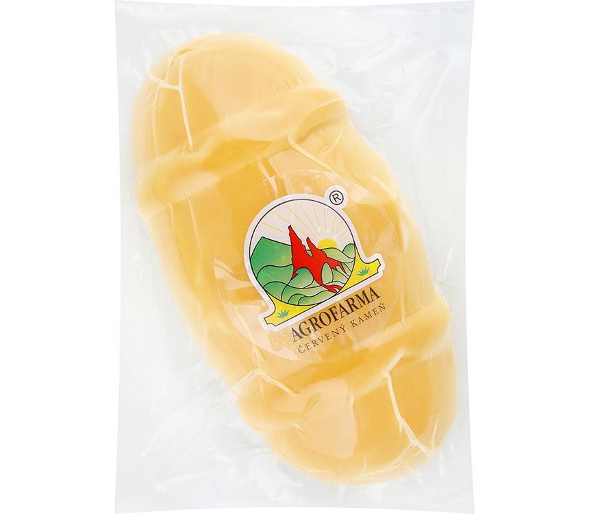 Polotvrdý nezrejúci parený syr
