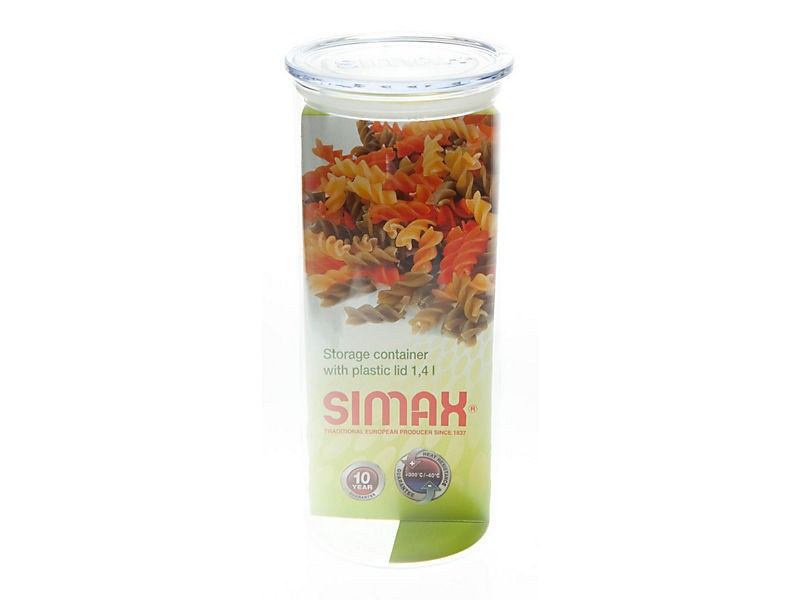Zásobník na potraviny sklo 1,4 l Simax 1ks