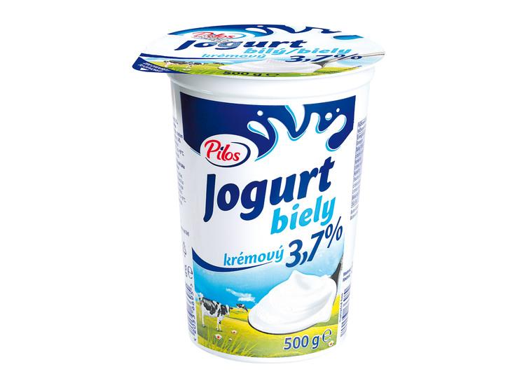 Biely jogurt