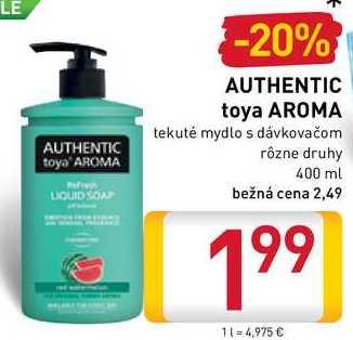 AUTHENTIC toya AROMA  400 ml