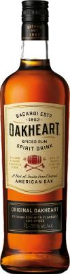 Bacardi Oakheart 35% 1,00 L