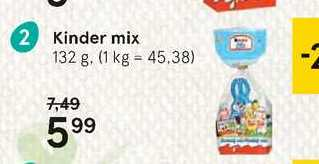 Kinder mix, 132 g