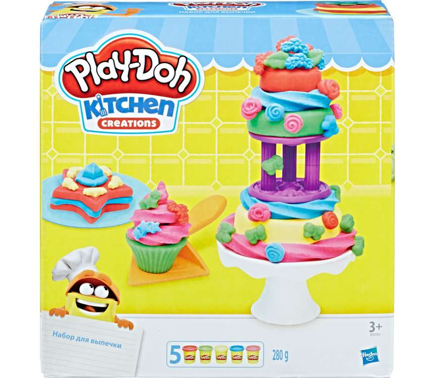 Play-Doh Továreň na koláčiky