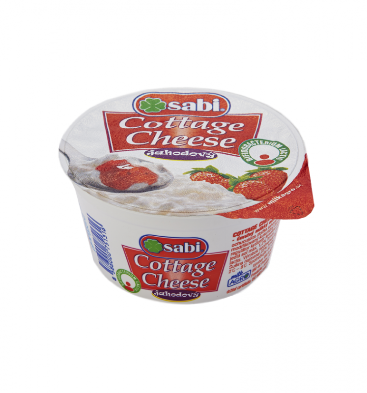 Cottage cheese jahodový
