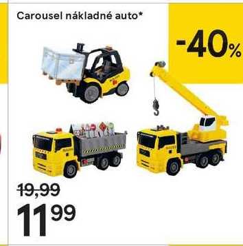 Carousel nákladné auto
