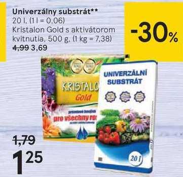 Univerzálny substrát**