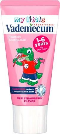 Vademecum junior jahoda zubná pasta 1x50 ml