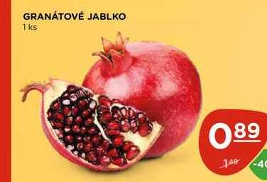 GRANÁTOVÉ JABLKO 1 ks