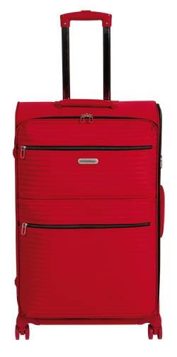 Batožina Adrian 78cm červená Lambertazzi 1 ks