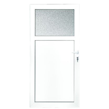 Plastové vedľajšie vchodové dvere 98 cm x 198 cm K301 pravé