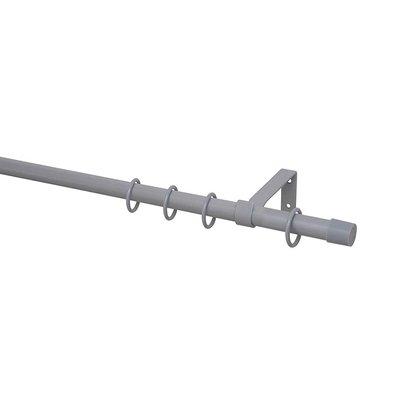 Záclonová tyč Kappe pr. 16 mm, dĺžka 120 cm, strieborná