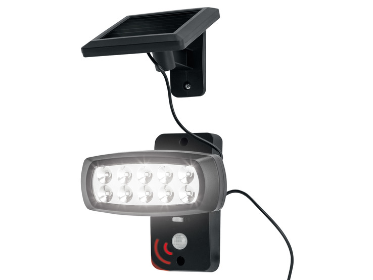 LED solárny reflektor