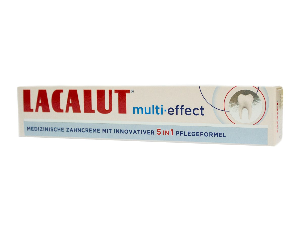 Lacalut Multi Effect zubná pasta 1x75 ml