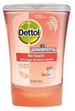 Dettol Grapefruit mydlo do dávkovača náhradná náplň 1x250 ml