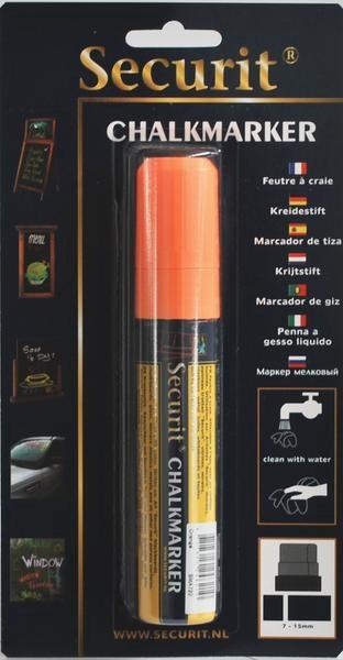 Popisovač 7-15mm oranžový 1ks