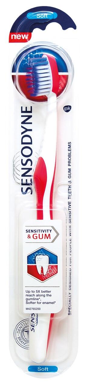 Sensodyne sensitivity&gum zubná kefka 1x1 ks
