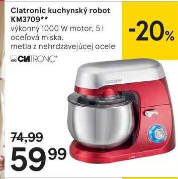 Clatronic kuchynský robot KM3709