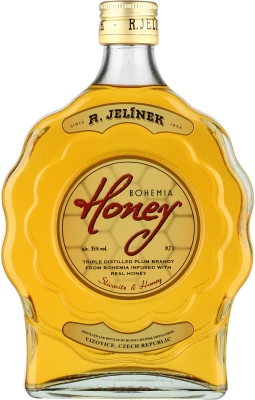 Bohemia Honey budík 35% 0,70 L