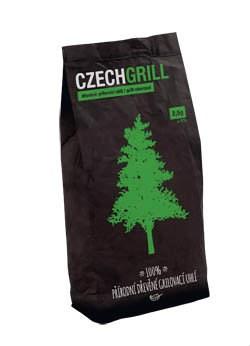 Drevené uhlie 2,5kg CZECHGRILL 1ks