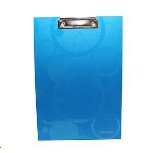Jednodoska s klipom Neo Color A4 modrá 1ks