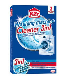 K2r Cleaner 3v1 čistič práčky 1x2ks