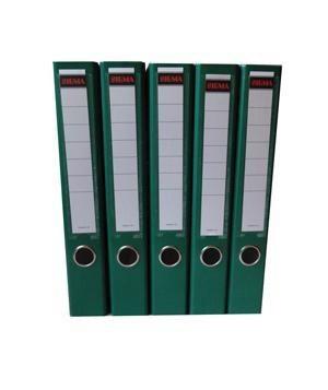 Šanón/zakladač A4/5cm pákový zelený SIGMA 5ks