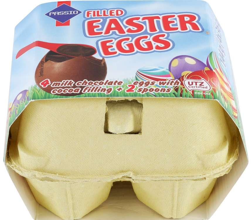 Čokoládové vajíčka