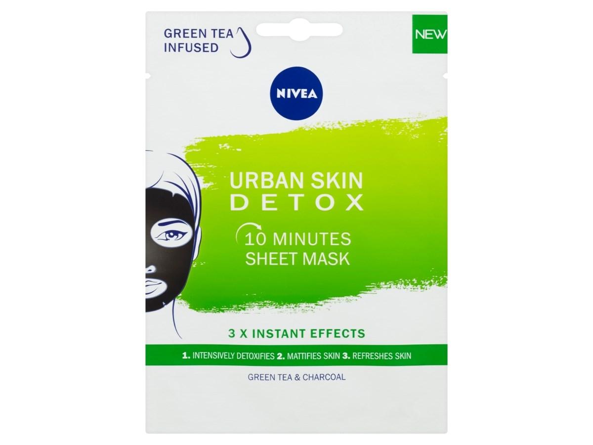 Nivea Urban Skin Detox textilná maska 1x1 ks