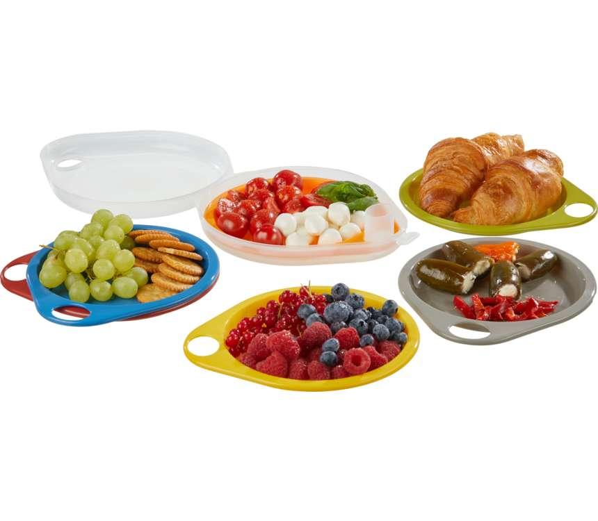 Súprava tanierov na piknik