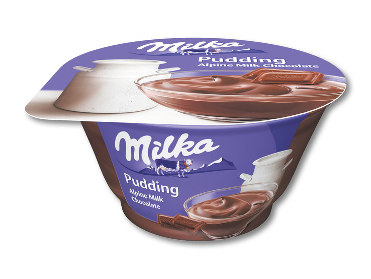 Milka puding