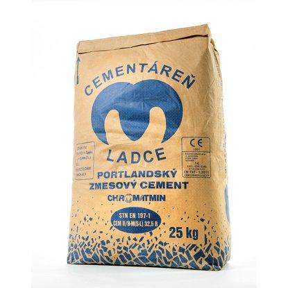 Portlandský zmesový cement CEM II/B-M (S-L) 32,5R 25 kg