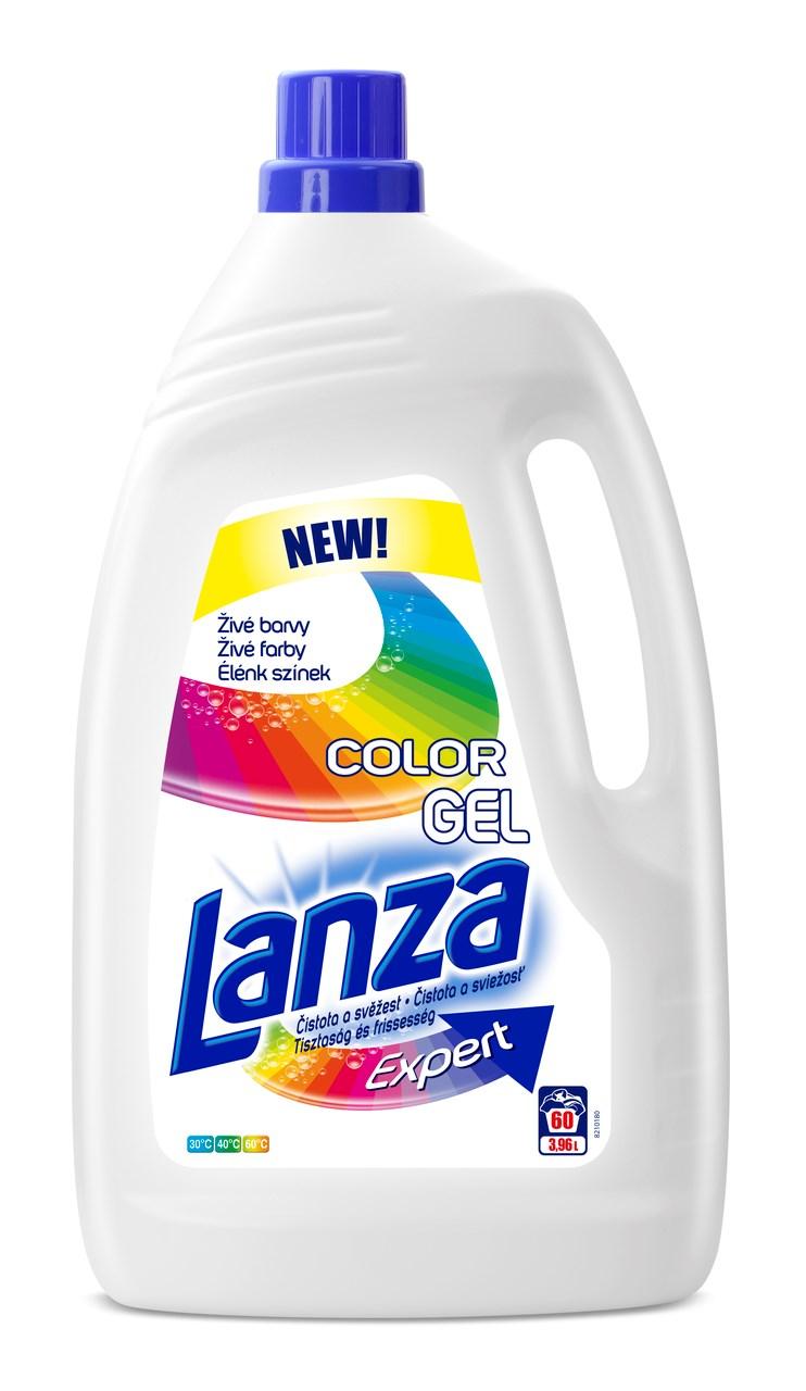 Lanza Expert Color prací gél 60 praní 1x3,96 l