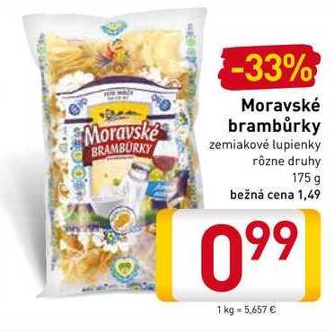 Moravské brambůrky 175 g