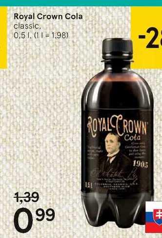 Royal Crown Cola, 0,5 l