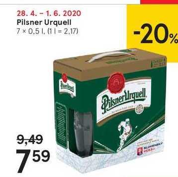 Pilsner Urquell, 7 x 0,5 l