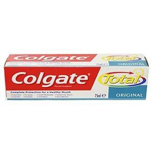 Colgate total original zubná pasta 1x75 ml