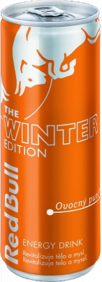 Red Bull Winter Edition (Ovocný punč) 0,25 L plech